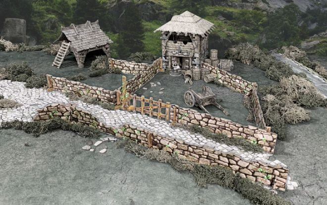 Battle Systems: Stone Walls
