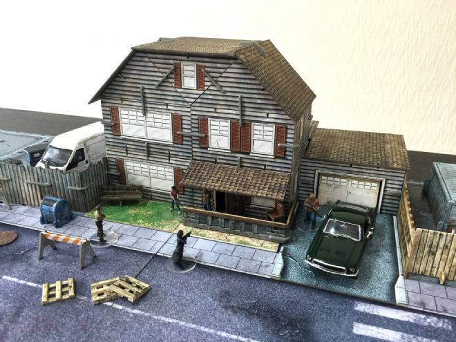 Battle Systems: Suburban House - Two Storey