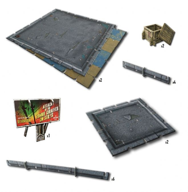Battle Systems: Urban Floor Tiles Pack
