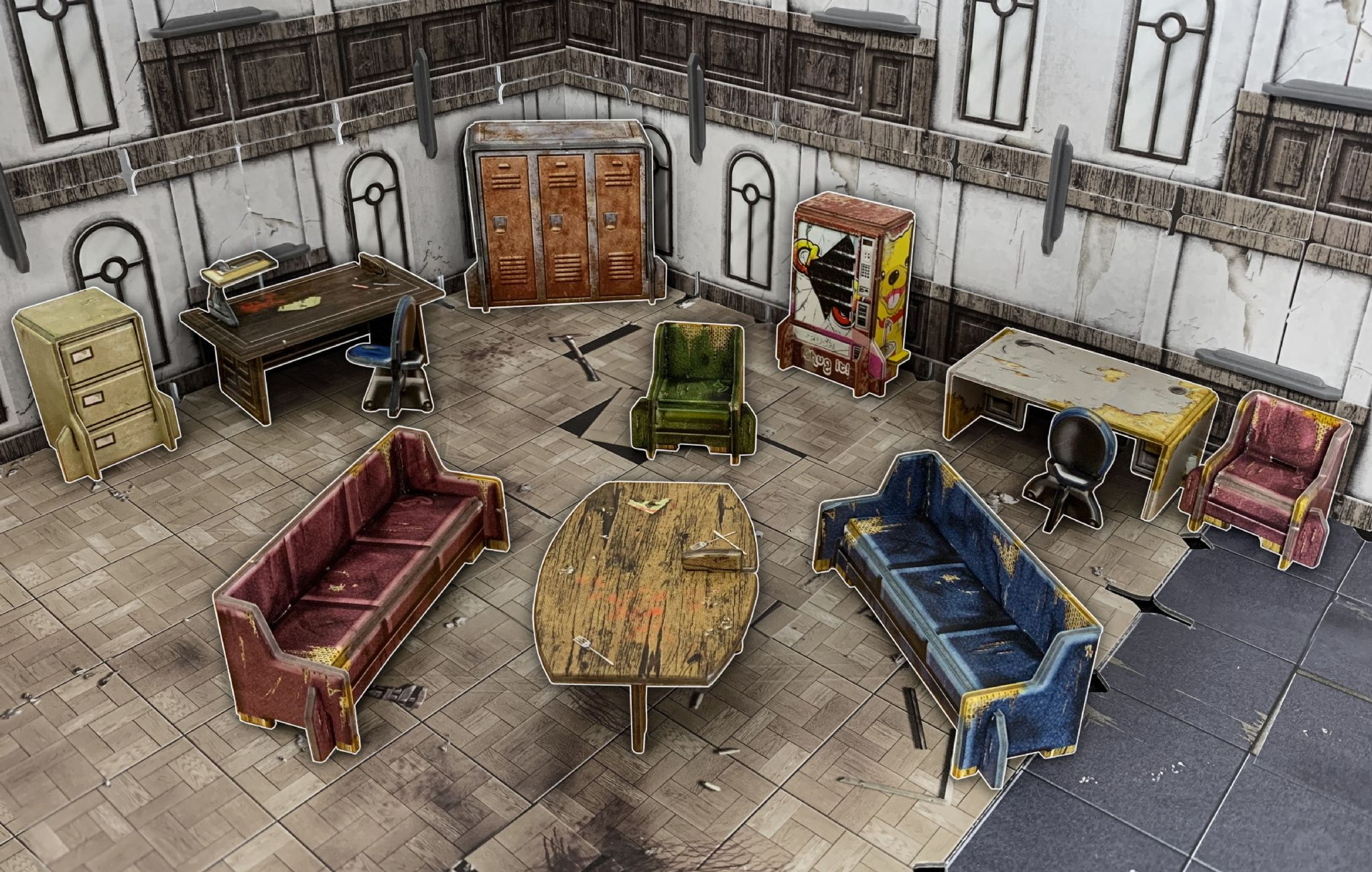 Battle Systems: Urban Furniture