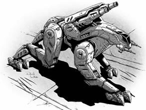 BattleTech: Antlion LK-3D Mech - 45 Tons - TRO 3145 Federated Suns