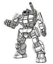 BattleTech: Shadow Hawk SHD-2Hb Mech - 55 Tons - TRO Hist: Operation Klondike