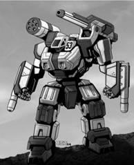 BattleTech: Swordsman SWD-1 Mech – 40 Tons - XTRO Primitives IV