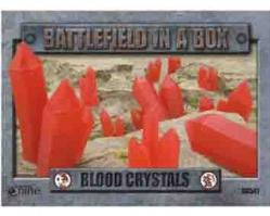 Battlefield in a Box: Blood Crystals (Red)