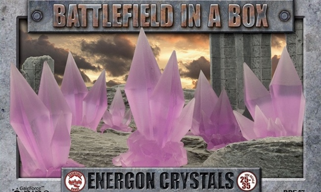 Battlefield in a Box: Energon Crystals