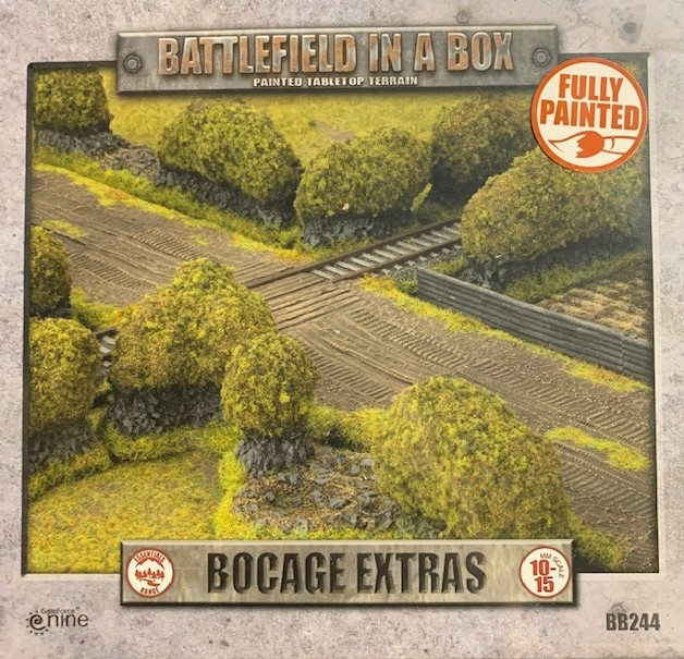 Battlefield in a Box: Flames of War: Bocage Extras [Flocked Version]