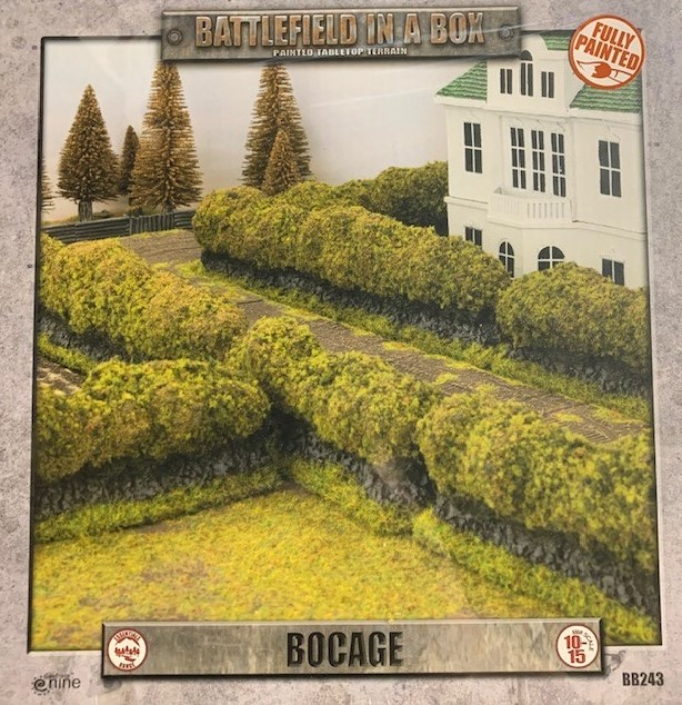 Battlefield in a Box: Flames of War: Bocage [Flocked Version]