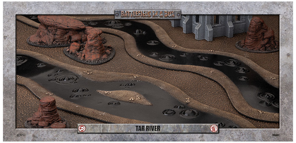 Battlefield in a Box: Tar River (6ft)