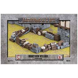 Battlefield in a Box: Wartorn Village Barricade