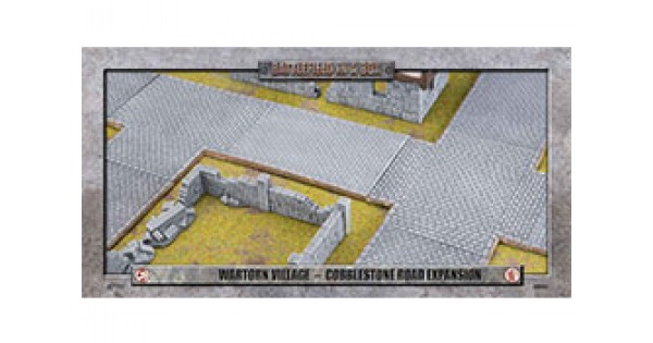 Battlefield in a Box: Wartorn Village Cobblestone Road Expansion