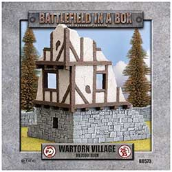 Battlefield in a Box: Wartorn Village Medium Ruin