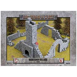 Battlefield in a Box: Wartorn Village Ruins