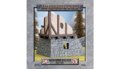 Battlefield in a Box: Wartorn Village Small Ruin