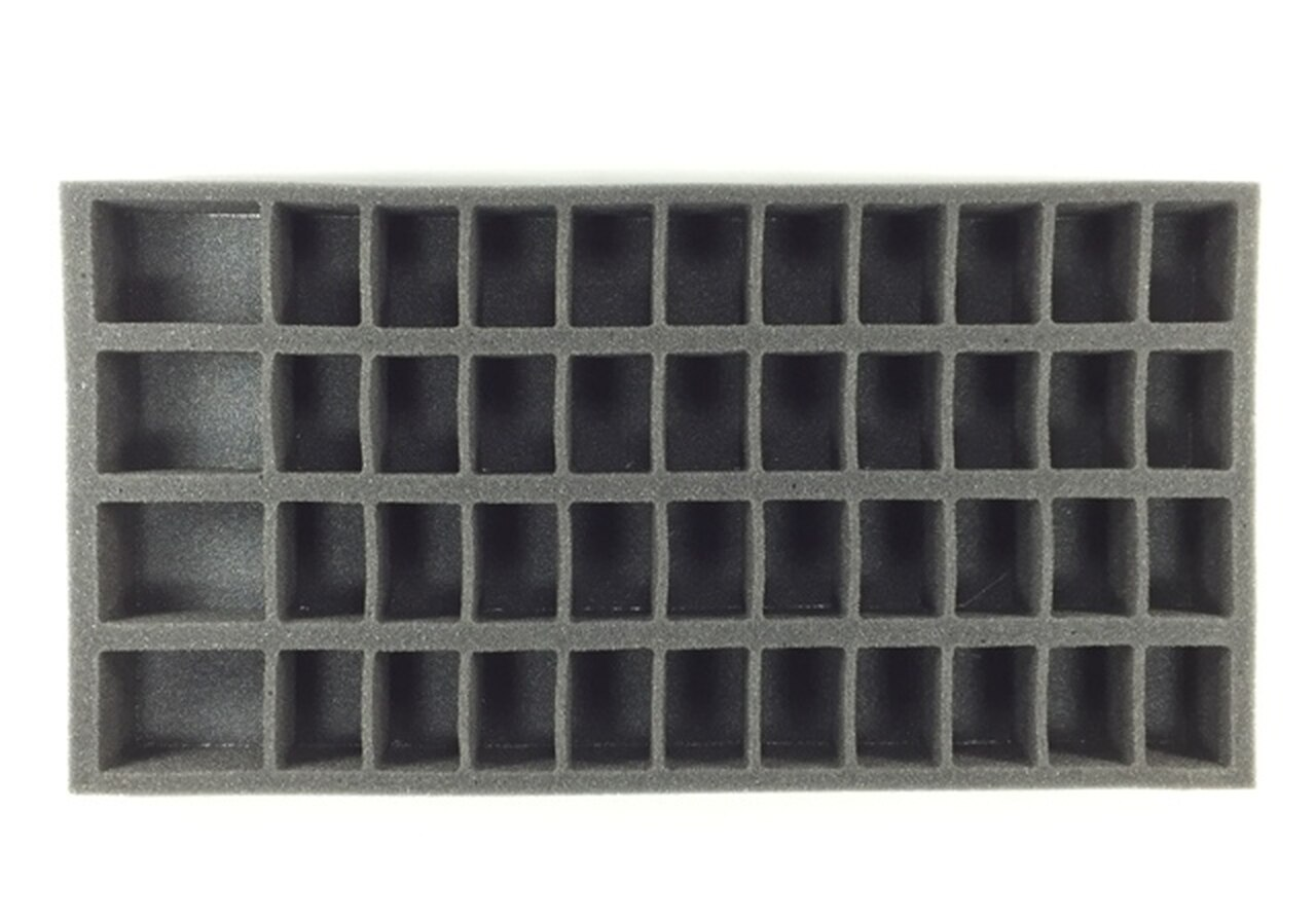 Battlefoam: 40 Medium 4 Large Troop Foam Tray (BFM-1.5)