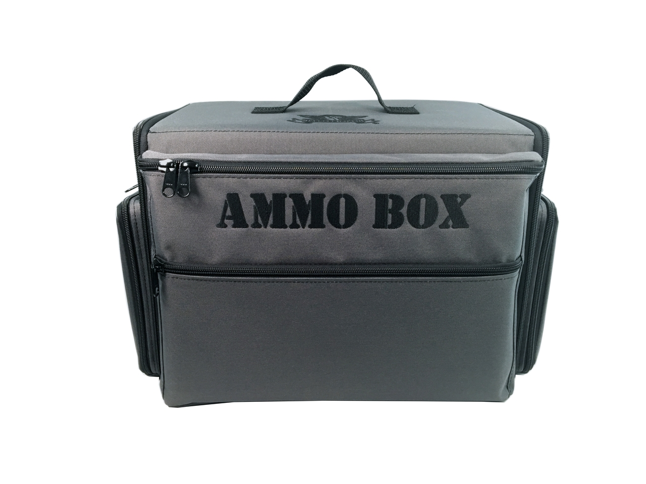 Battlefoam: Ammo Box Bag: Empty (German Gray)