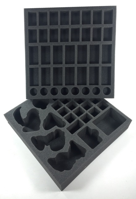 "Battlefoam: Blood Rage Board Game Foam Tray Kit (11.5"" x 11.5"")"