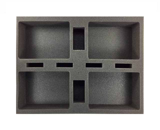 Battlefoam: Star Wars X-Wing Generic Foam Tray: Large Ship (BFL-2.5)