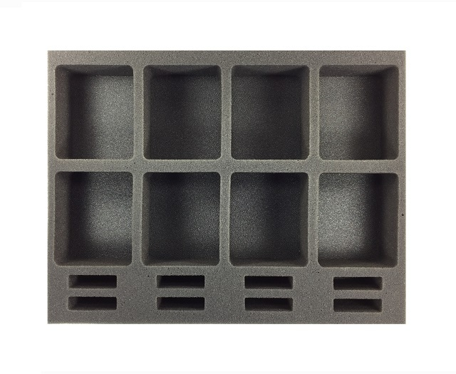 Battlefoam: Star Wars X-Wing Generic Foam Tray: Medium Ship (BFL-2)