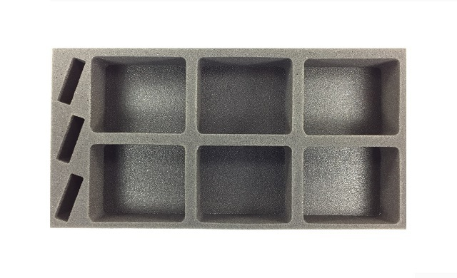 Battlefoam: Star Wars X-Wing Generic Foam Tray: Medium Ship (BFM-2)