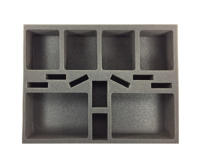 Battlefoam: Star Wars X-Wing Generic Foam Tray: Medium and Large Ship (BFL-2.5)