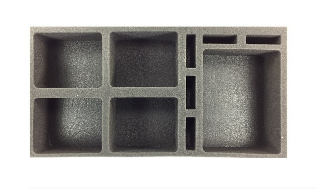 Battlefoam: Star Wars X-Wing Generic Foam Tray: Medium and Large Ship (BFM-2.5)