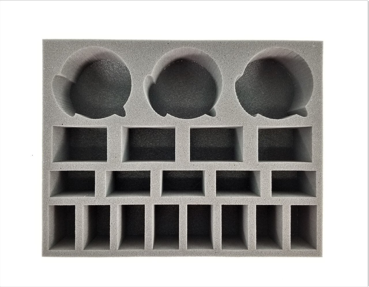 Battlefoam: WH40K: Chaos Obliterators Greater Possessed and 3 Venomcrawler Foam Tray (BFL-4)