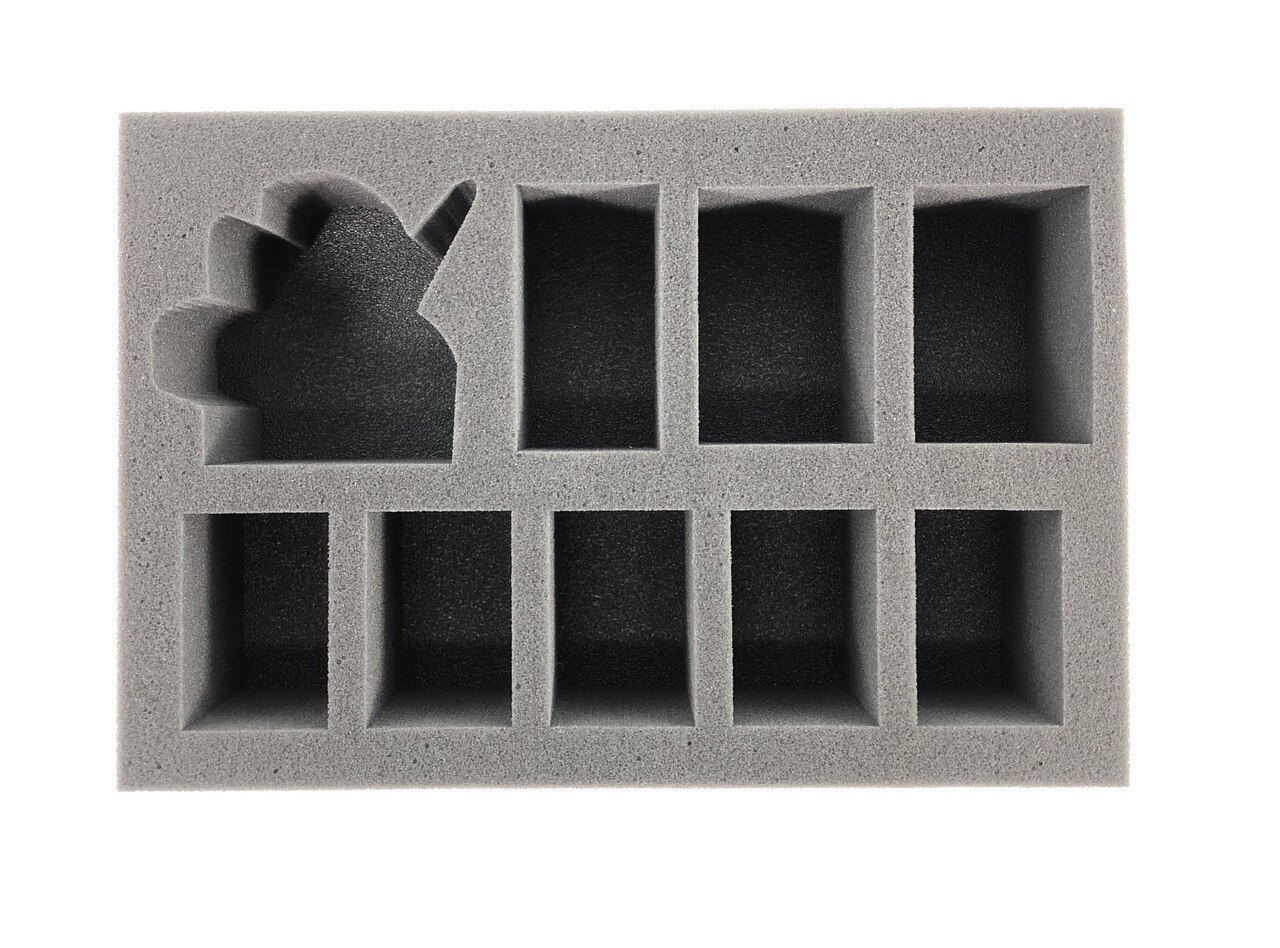 Battlefoam: WH40K: Chaos Space Marine Abaddon the Despoiler Foam Tray (BFS-2.5)