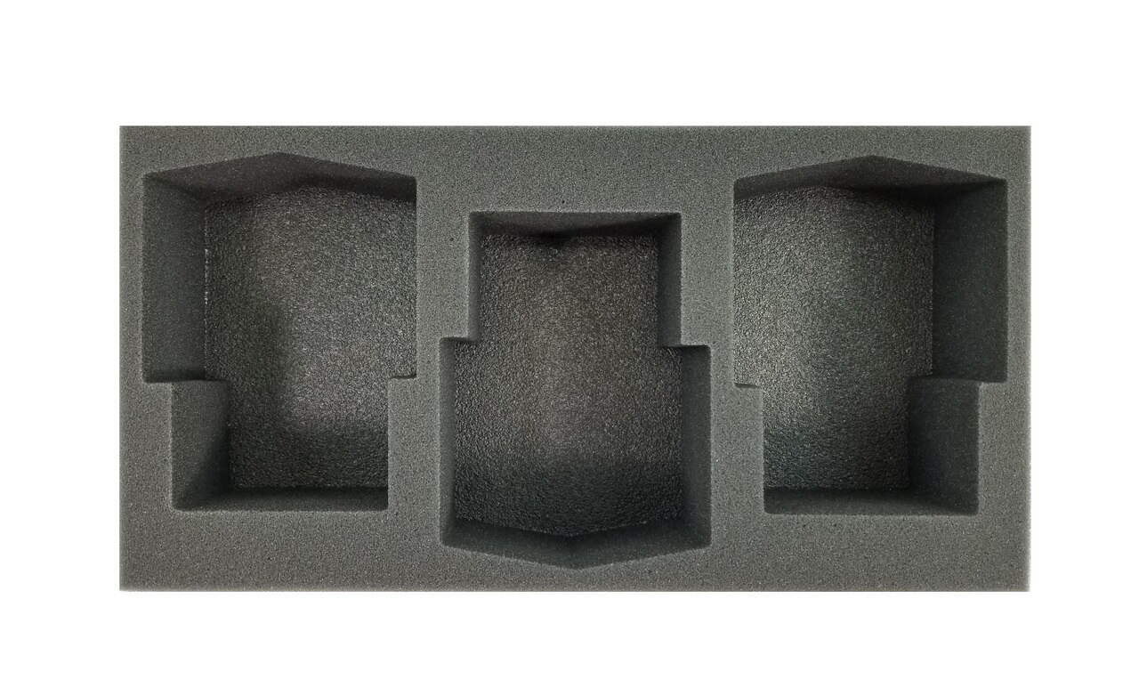 Battlefoam: WH40K: Death Guard: 3 Plagueburst Crawler Foam Tray (BFM-3)
