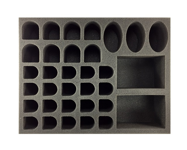 Battlefoam: WH40K: Deathwatch: Kill Team Large Troop and Vehicle Foam Tray (BFL-3)