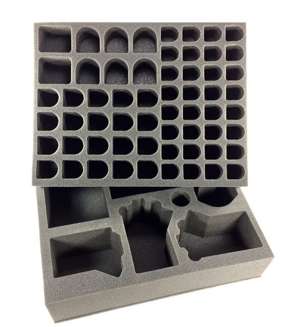 Battlefoam: WH40K: Genestealer Cults: Foam Kit for the P.A.C.K. System Bags (BFL)