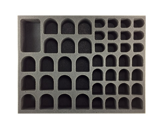 Battlefoam: WH40K: Genestealer Cults: Large Troop Foam Tray (BFL-2)