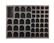 Battlefoam: WH40K: Genestealer Cults: Large Troop Foam Tray (BFL-2) - BF-BFL-GCLT [812541027077]
