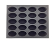 Battlefoam: WH40K: Space Marine: Tray: 20 Space Marine Bike Foam Tray (BFL-3) - BF-BFL-20SMB [812541027121]