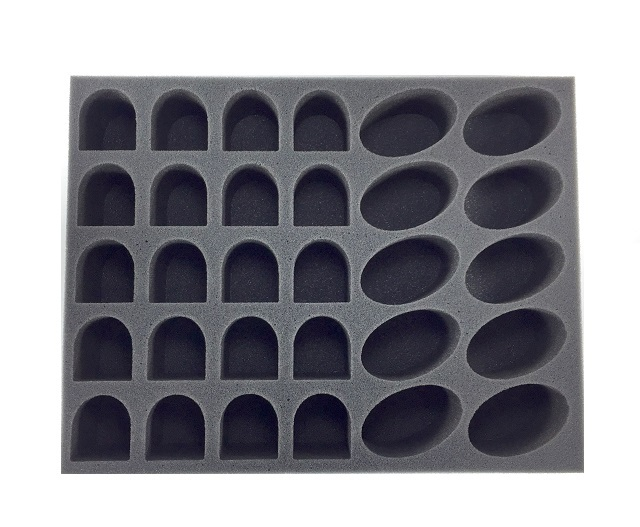 Battlefoam: WH40K: Space Marine: Tray: 20 Terminator 10 Bike Foam Tray (BFL-2.5)