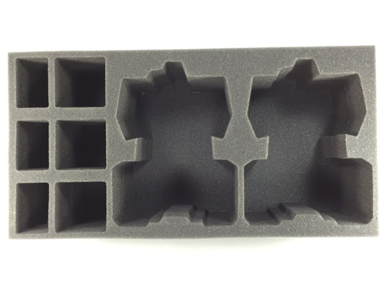 Battlefoam: WH40K: Tau: 2 Devilfish 3 Crisis Suit 3 Stealth Suit Foam Tray (BFM-4)