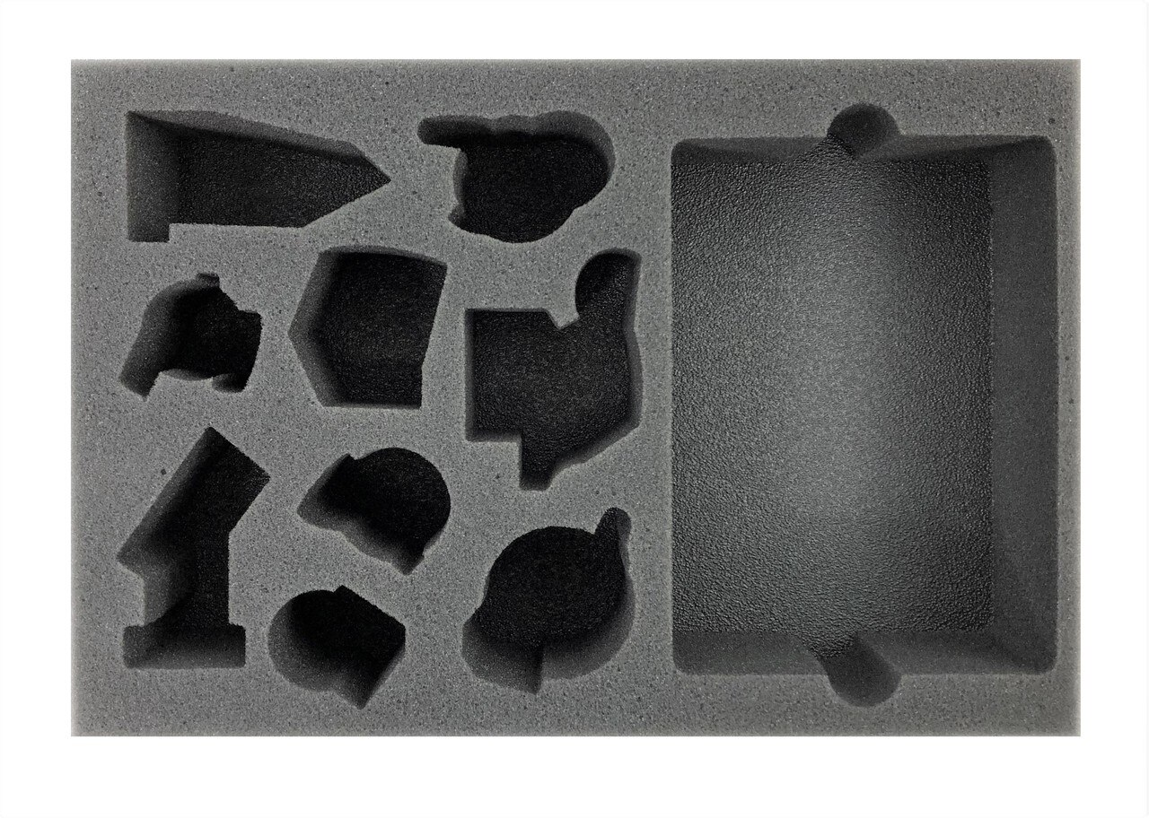 Battlefoam: Warcry Untamed Beasts Foam Tray (BFS-2)