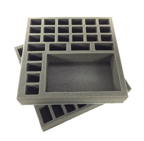 Battlefoam: Zombicide Black Plague Foam Tray Kit