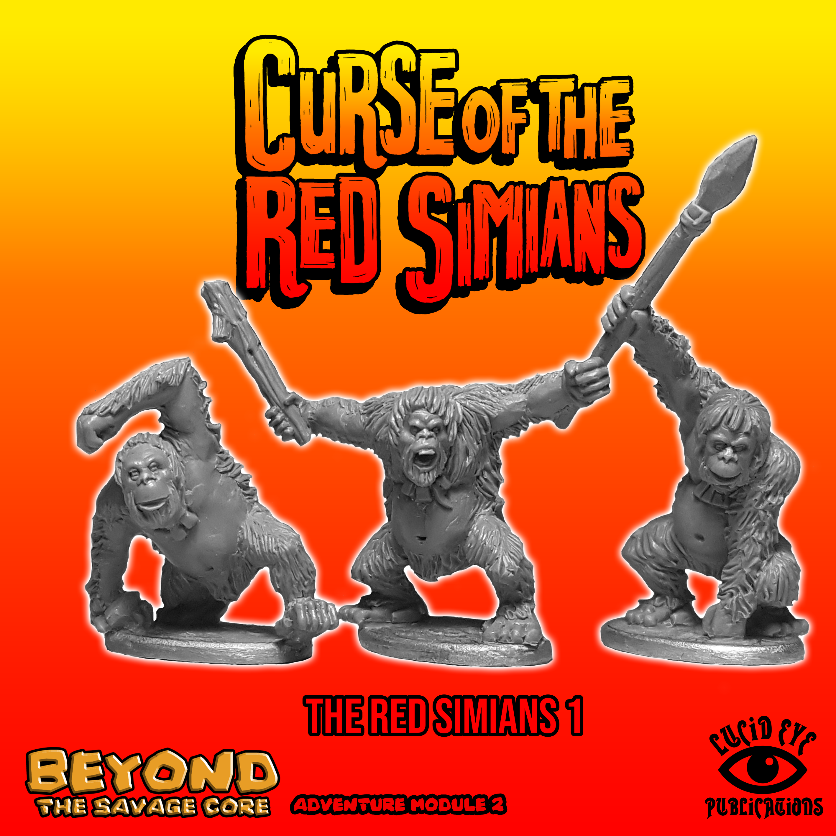 Beyond The Savage Core: Curse of The Red Simians- The Red Simians 1