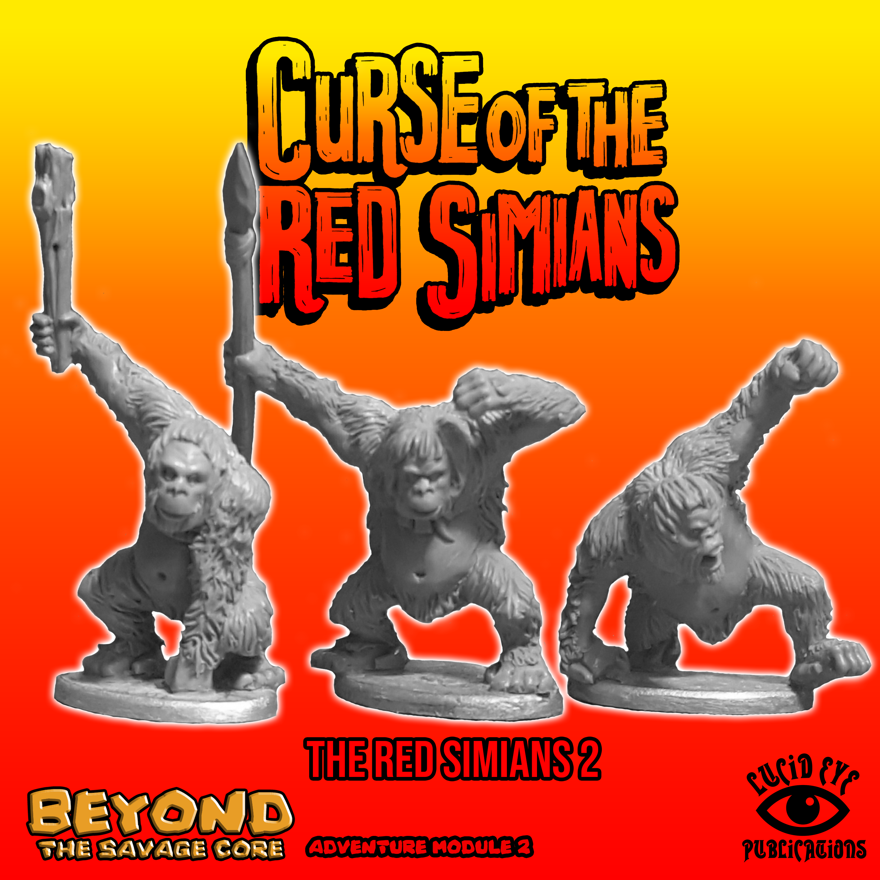 Beyond The Savage Core: Curse of The Red Simians- The Red Simians 2