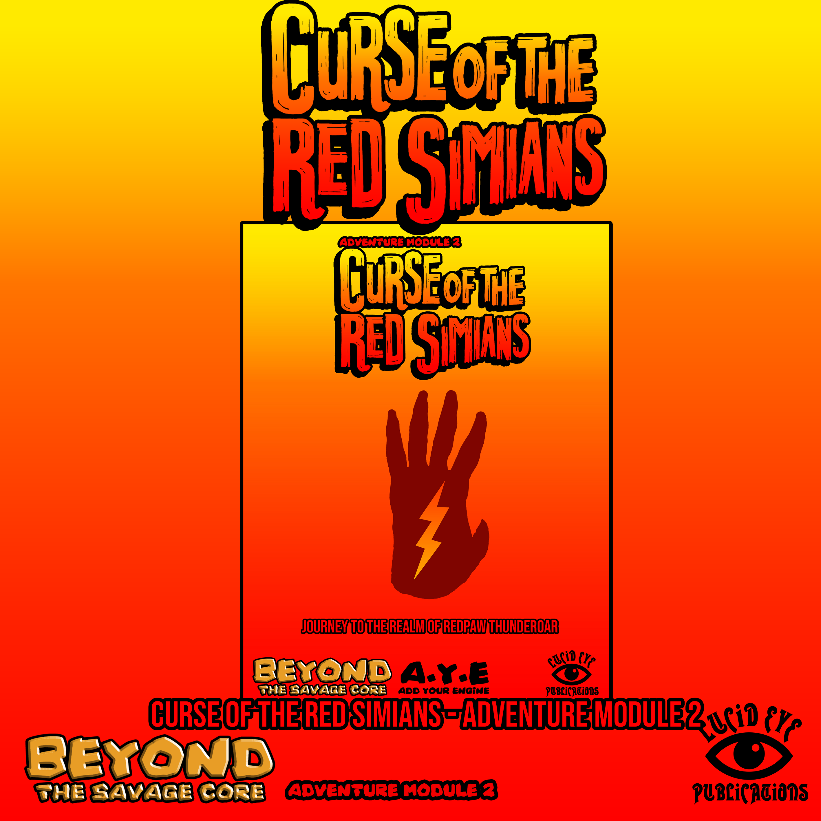 Beyond The Savage Core: Curse of The Red Simians