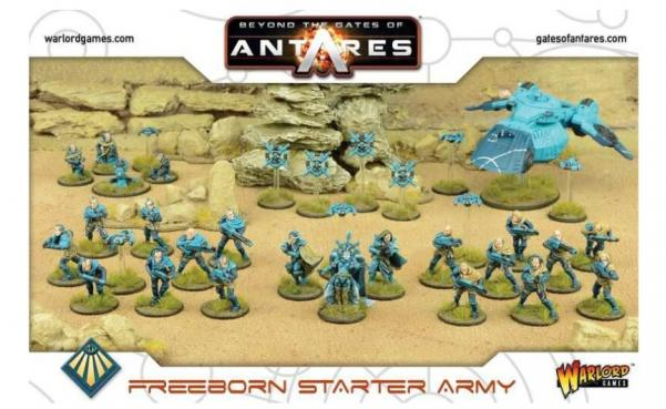 Beyond the Gates of Antares Freeborn: Starter Army