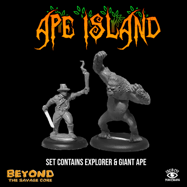 Beyond the Savage Core: Ape Island Set