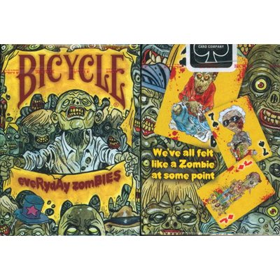Bicycle Playing Cards: Everyday Zombies
