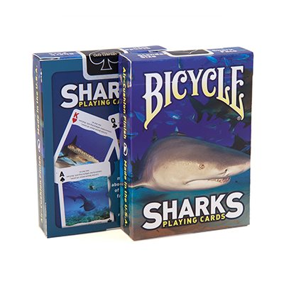 Bicycle Playing Cards: Sharks