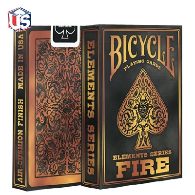 Bicycle Element Playing Cards: Fire