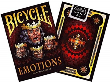 Bicycle Playing Cards: Emotions