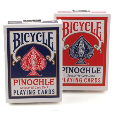 Bicycle Playing Cards: Pinochle Standard (Blue)
