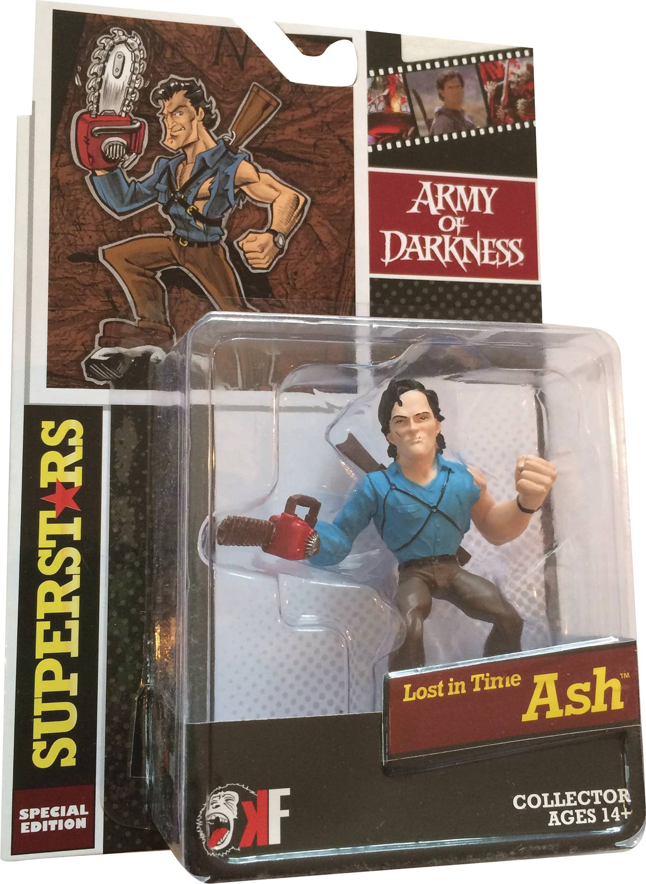 Big Screen Superstars: Army Of Darkness- Lost In Time Ash