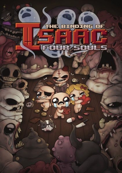 Binding of Issac: Four Souls [Damaged]