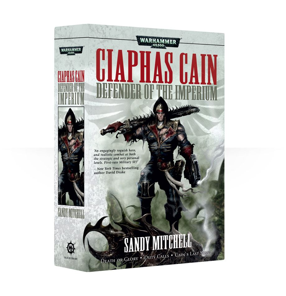 Black Library: Ciaphas Cain Defender of the Imperium (PB)